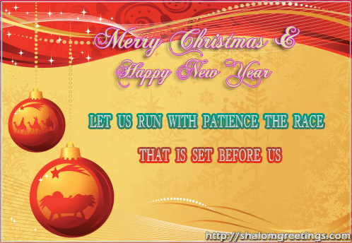 Christian greetings cards birthday greetings newyear greetings e wishing you and your family a merry christmas and happy new year m4hsunfo